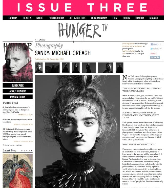 Hunger_Magazine_Michael_Creagh