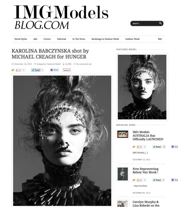 IMG_Models_Karolina_Babczynska_Hunger_Magazine