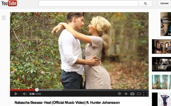 NataschaBessez_HunterJohannson_Heal_Video