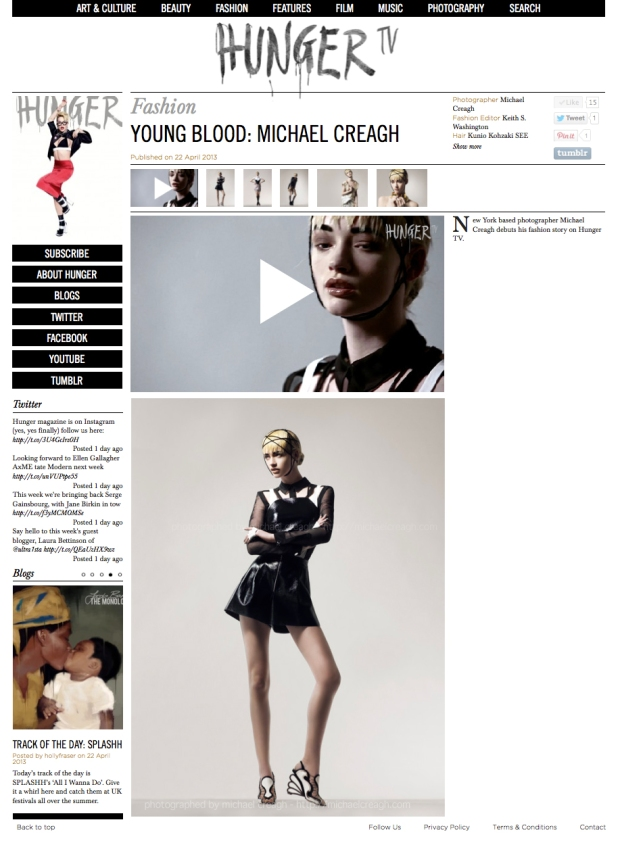 Liv O'Driscoll, IMG Models