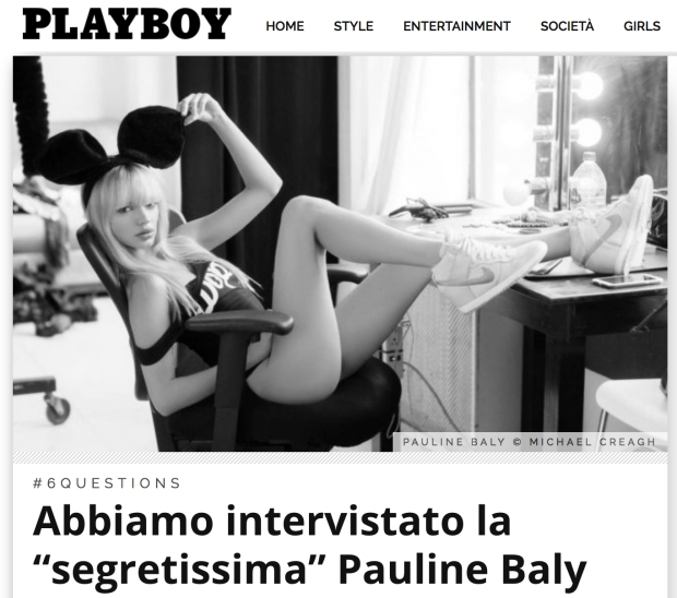 PaulineBaly_MichaelCreagh_Playboy