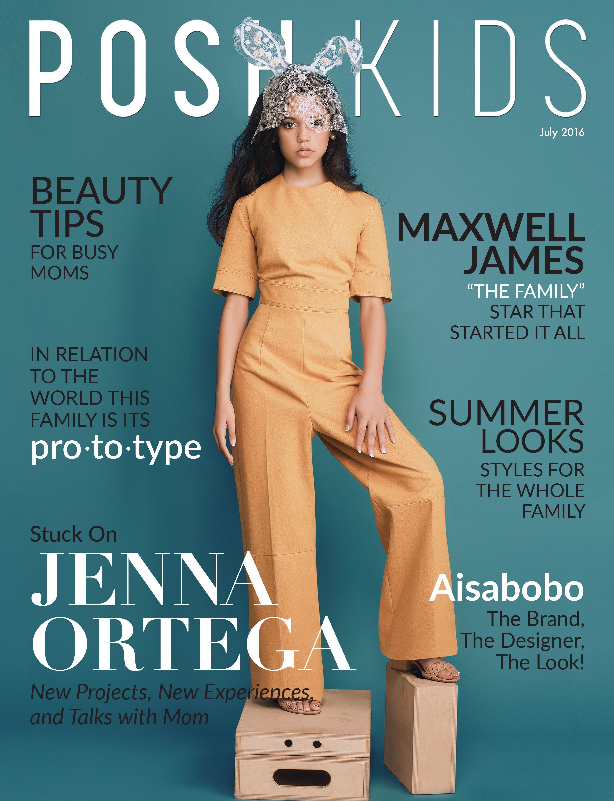 PKM Jenna Ortega Cover